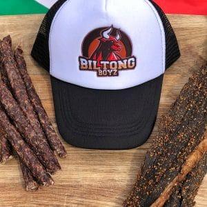 BiltongBoyz Trucker Cap - Black