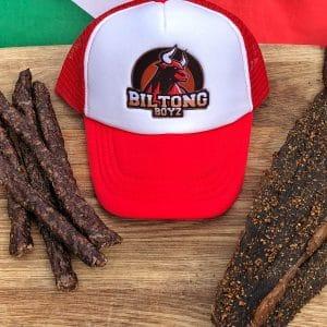 BiltongBoyz Trucker Cap - Red